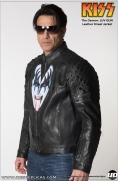 KISS: The Demon - LUV GUN Leather Street Jacket Image 5