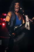 KISS: LICK IT UP Official Leather Vest Image 5
