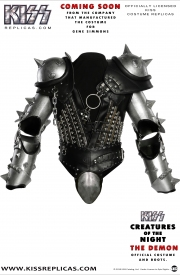 KISS The Demon: CREATURES OF THE NIGHT Official Costume