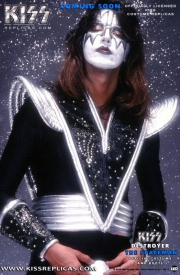 KISS: The Spaceman DESTROYER Official Costume