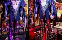 KISS Gene Simmons Demon LOVE GUN Costume Replica - From the collection of Steve Fisk
