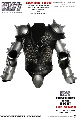 KISS The Demon: CREATURES OF THE NIGHT Official Costume Image 1
