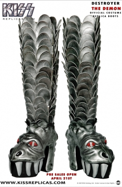 KISS: The Demon DESTROYER Official Boots Image 1