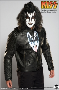 KISS: The Demon - LUV GUN Leather Street Jacket Image 1