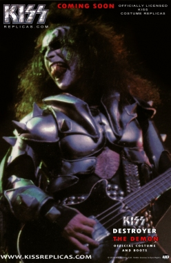 KISS: The Demon DESTROYER Official Costume  Image 1