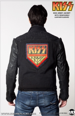 KISS: ARMY Jacket: With Removable Sleeves Image 1