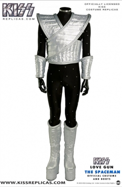 KISS: The Spaceman LOVE GUN Official Costume Image 1