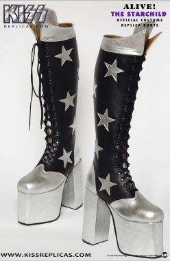 KISS: The Starchild ALIVE! Official Boots Image 1