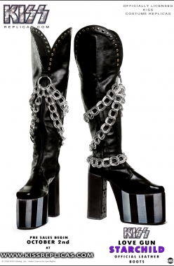 KISS: The Starchild LOVE GUN Official Costume Image 1