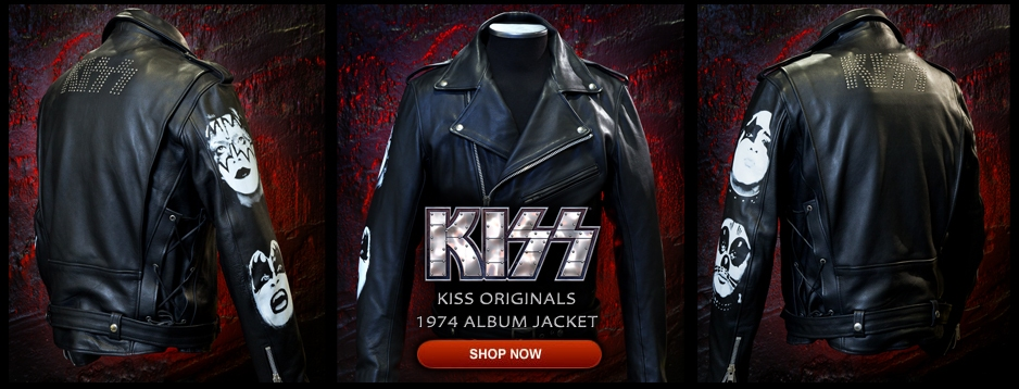 KISS Originals: 1974 Leather Jacket